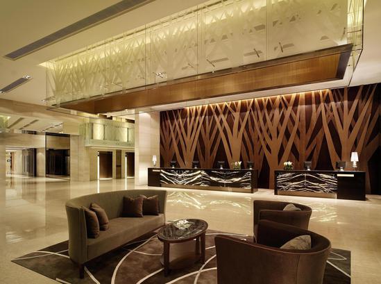 Дизайн лобби бара в гостиницу